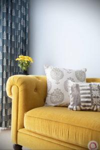 желтый цвет стен в интерьере 09.10.2019 №018 -yellow in interior- design-foto.ru