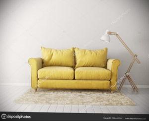 желтый цвет стен в интерьере 09.10.2019 №019 -yellow in interior- design-foto.ru