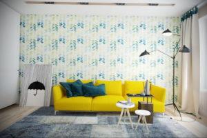 желтый цвет стен в интерьере 09.10.2019 №021 -yellow in interior- design-foto.ru
