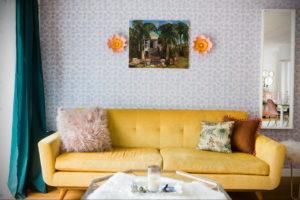 желтый цвет стен в интерьере 09.10.2019 №026 -yellow in interior- design-foto.ru