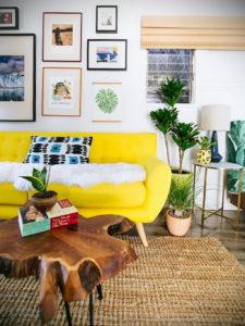 желтый цвет стен в интерьере 09.10.2019 №032 -yellow in interior- design-foto.ru