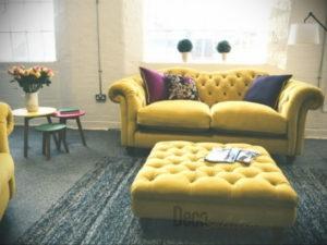 желтый цвет стен в интерьере 09.10.2019 №033 -yellow in interior- design-foto.ru