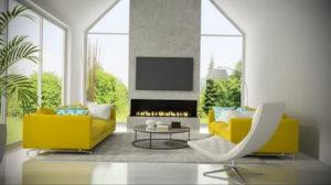 желтый цвет стен в интерьере 09.10.2019 №034 -yellow in interior- design-foto.ru