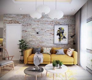 желтый цвет стен в интерьере 09.10.2019 №036 -yellow in interior- design-foto.ru