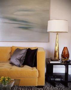 желтый цвет стен в интерьере 09.10.2019 №037 -yellow in interior- design-foto.ru