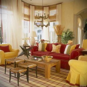 желтый цвет стен в интерьере 09.10.2019 №040 -yellow in interior- design-foto.ru