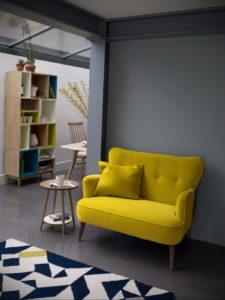 желтый цвет стен в интерьере 09.10.2019 №041 -yellow in interior- design-foto.ru
