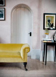 желтый цвет стен в интерьере 09.10.2019 №043 -yellow in interior- design-foto.ru