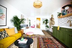 желтый цвет стен в интерьере 09.10.2019 №046 -yellow in interior- design-foto.ru