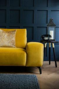 желтый цвет стен в интерьере 09.10.2019 №053 -yellow in interior- design-foto.ru