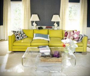 желтый цвет стен в интерьере 09.10.2019 №058 -yellow in interior- design-foto.ru