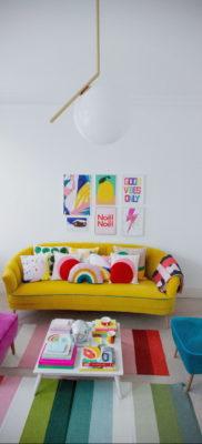 желтый цвет стен в интерьере 09.10.2019 №060 -yellow in interior- design-foto.ru