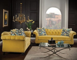 желтый цвет стен в интерьере 09.10.2019 №063 -yellow in interior- design-foto.ru