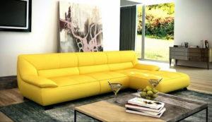 желтый цвет стен в интерьере 09.10.2019 №064 -yellow in interior- design-foto.ru