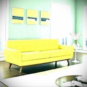 желтый цвет стен в интерьере 09.10.2019 №066 -yellow in interior- design-foto.ru