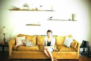 желтый цвет стен в интерьере 09.10.2019 №075 -yellow in interior- design-foto.ru