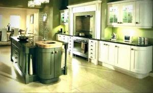 зеленая кухня в интерьере 06.10.2019 №043 -green in the interior- design-foto.ru