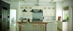зеленая кухня в интерьере 06.10.2019 №048 -green in the interior- design-foto.ru