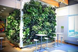 зеленая стена в интерьере 06.10.2019 №001 -green in the interior- design-foto.ru