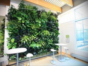 зеленая стена в интерьере 06.10.2019 №007 -green in the interior- design-foto.ru