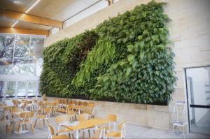 зеленая стена в интерьере 06.10.2019 №020 -green in the interior- design-foto.ru