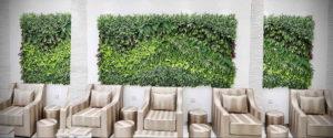 зеленая стена в интерьере 06.10.2019 №024 -green in the interior- design-foto.ru