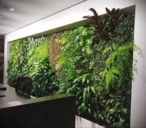 зеленая стена в интерьере 06.10.2019 №029 -green in the interior- design-foto.ru