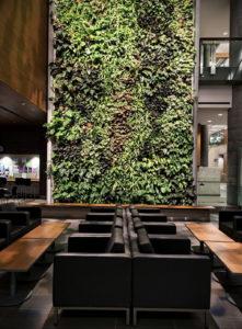 зеленая стена в интерьере 06.10.2019 №030 -green in the interior- design-foto.ru