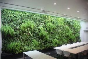 зеленая стена в интерьере 06.10.2019 №034 -green in the interior- design-foto.ru