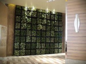 зеленая стена в интерьере 06.10.2019 №037 -green in the interior- design-foto.ru