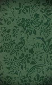 зеленые обои в интерьере 06.10.2019 №022 -green in the interior- design-foto.ru