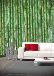 зеленые обои в интерьере 06.10.2019 №023 -green in the interior- design-foto.ru