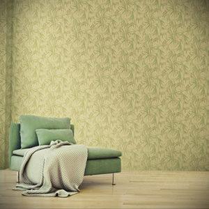 зеленые обои в интерьере 06.10.2019 №038 -green in the interior- design-foto.ru