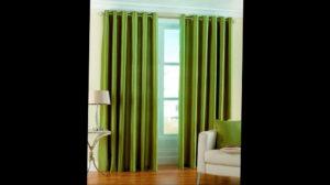зеленые шторы в интерьере 06.10.2019 №035 -green in the interior- design-foto.ru