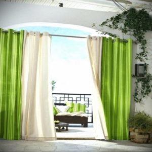 зеленые шторы в интерьере 06.10.2019 №047 -green in the interior- design-foto.ru