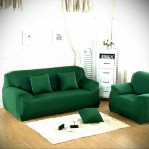 зеленый диван в интерьере 06.10.2019 №026 -green in the interior- design-foto.ru