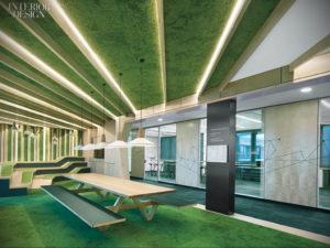 зеленый ковер в интерьере 06.10.2019 №006 -green in the interior- design-foto.ru
