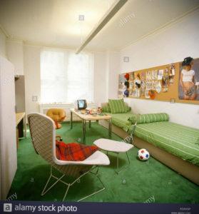 зеленый ковер в интерьере 06.10.2019 №010 -green in the interior- design-foto.ru