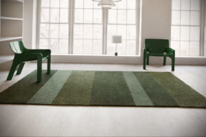 зеленый ковер в интерьере 06.10.2019 №034 -green in the interior- design-foto.ru