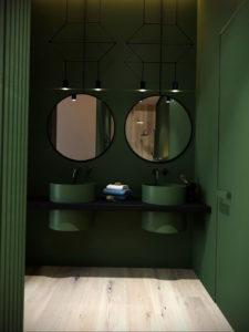 интерьеры зеленой ванны 06.10.2019 №002 -green in the interior- design-foto.ru