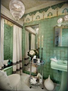 интерьеры зеленой ванны 06.10.2019 №004 -green in the interior- design-foto.ru