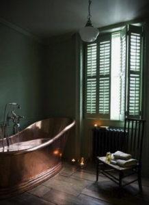 интерьеры зеленой ванны 06.10.2019 №009 -green in the interior- design-foto.ru