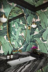 интерьеры зеленой ванны 06.10.2019 №010 -green in the interior- design-foto.ru