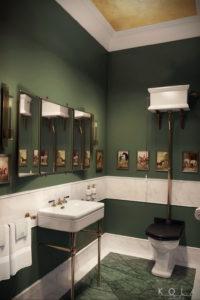 интерьеры зеленой ванны 06.10.2019 №012 -green in the interior- design-foto.ru