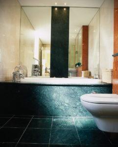интерьеры зеленой ванны 06.10.2019 №016 -green in the interior- design-foto.ru