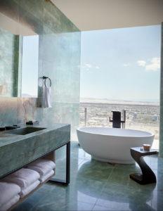 интерьеры зеленой ванны 06.10.2019 №019 -green in the interior- design-foto.ru