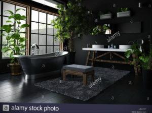 интерьеры зеленой ванны 06.10.2019 №022 -green in the interior- design-foto.ru