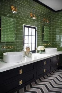 интерьеры зеленой ванны 06.10.2019 №023 -green in the interior- design-foto.ru