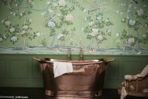 интерьеры зеленой ванны 06.10.2019 №024 -green in the interior- design-foto.ru
