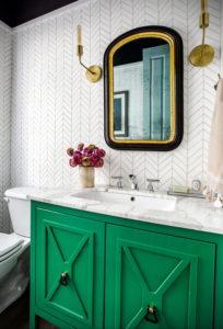 интерьеры зеленой ванны 06.10.2019 №028 -green in the interior- design-foto.ru